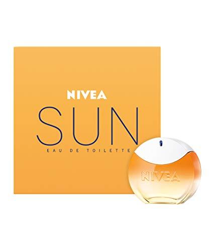 NIVEA SUN Eau de Toilette (1 x 30 ml) con il profumo originale della crema solare NIVEA SUN, profumo da donna estivo dal flacone iconico, il sensuale NIVEA SUN EDT risveglia ricordi estivi