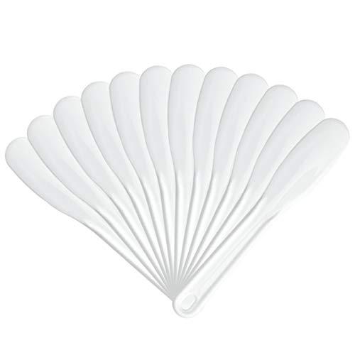 SPATOLA MISCELA FANGHI IN PLASTICA 12 Pz DA 16,3 cm PROFESSIONALE ESTETICA