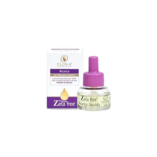 Zeta Free Ricarica per diffusore elettrico Flora antizanzare 25 ml