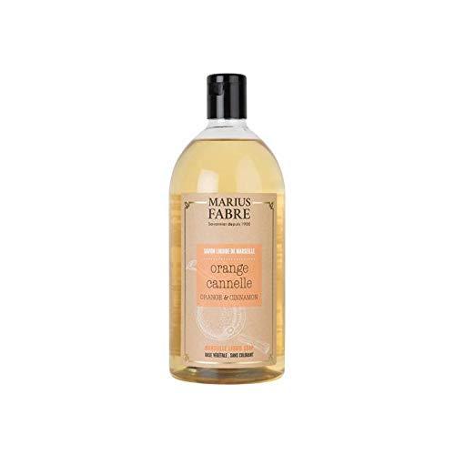 Marius Fabre Sapone liquido di Marsiglia alla ARANCIA & CANNELLA 1000 ml