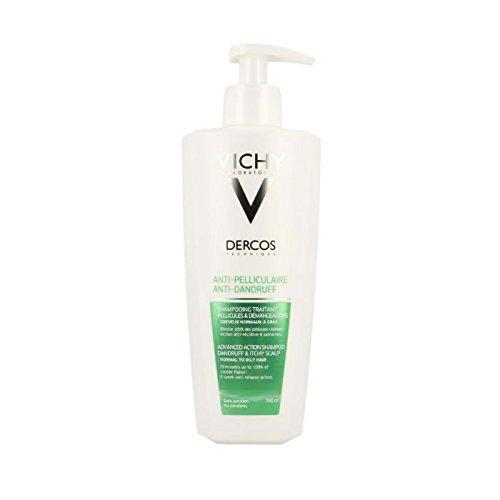 Vichy - shampoo antiforfora per capelli grassi, 400 ml