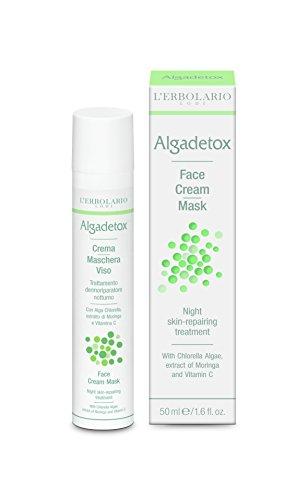 L'Erbolario ALGADETOX - Maschera da notte per la riparazione, 50 ml