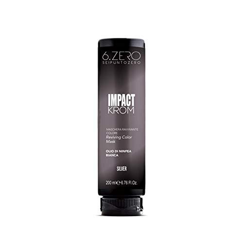 6.Zero Impact Krom Maschera Ravvivante Colore 200ml (Silver)