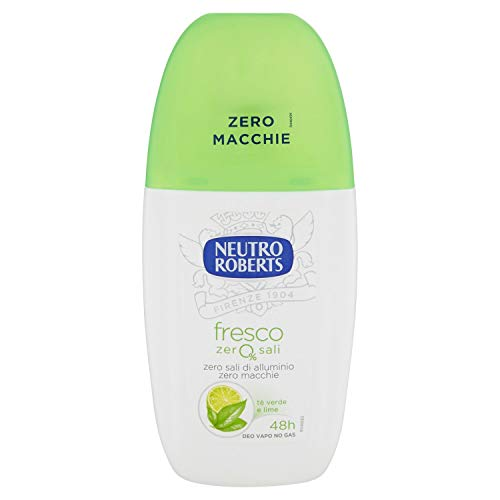 NEUTRO ROBERTS Deodorante Fresco tè Verde & Lime Vapo 75ml - 6 Confezioni
