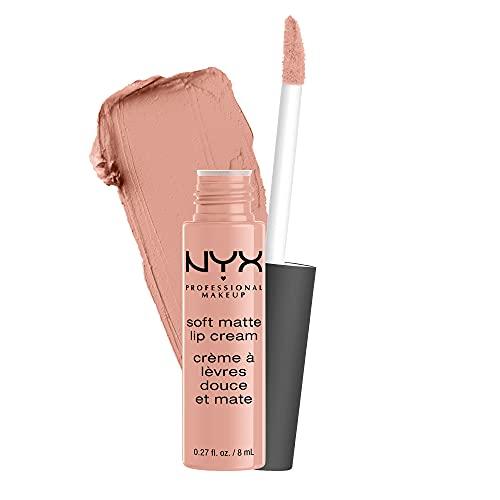 NYX Professional Makeup Soft Matte Lip Cream, Finish Matte e Cremoso, Colore Extra-Pigmentato, Long Lasting, Tonalità: Cairo