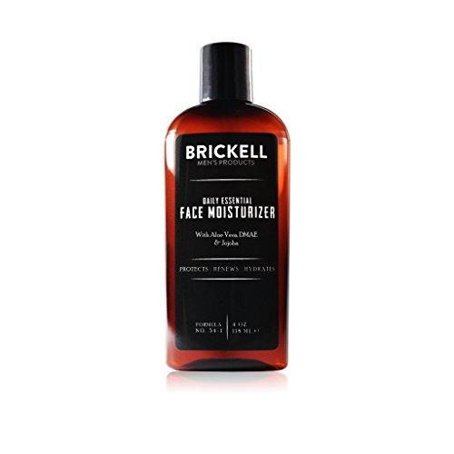 Brickell Men's Products Crema Idratante Viso Quotidiana per Uomo - Lozione Viso Naturale ed Organica - 4 once