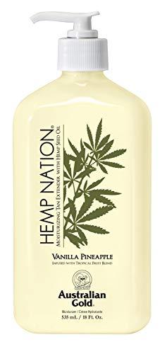 Australian Gold Hemp Nation Doposole Vanilla Pineapple 535ml