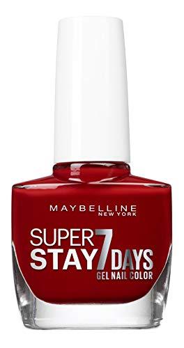 Maybelline MAGGIO VAO T.STRONG PRO BLG 06 Profondo rosso Ro / - smalto (2,1 cm, 11,6 cm, 5,6 centimetri)