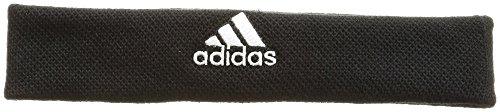 adidas Tennis Headband, Fascia Testa Unisex – Adulto, Black/White, OSFM