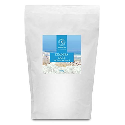 Sale del Mar Morto 5kg - 100% Puro e Naturale - Sali del Mar Morto 5000g - Cura del Corpo - Fantastici Benefici per un Buon Sonno - Bellezza - Bagno e la Cura del ?orpo - il Benessere - il Relax