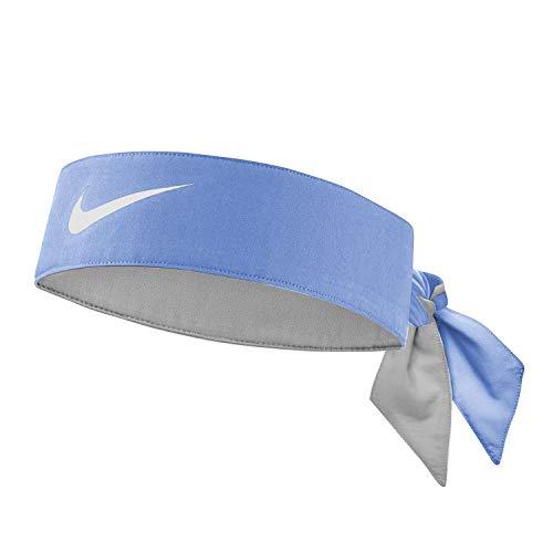 Nike Unisex – Fascia per capelli Dry-Fit per adulti, blu, taglia unica
