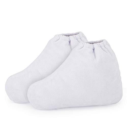 Paraffina piedi Liners, Segbeauty Enlarged paraffina riscaldati Stivaletti termali, Cera ricarica Borse Feet Hot Wax Terapia copertina Therabath mano di trattamento termico