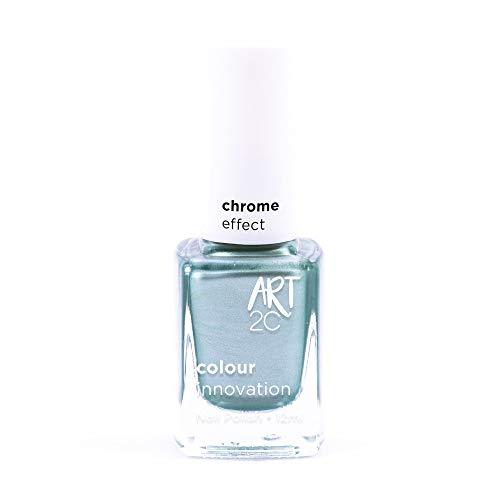 Art 2C Magic Moment Chrome Effect Nail Polish - Smalto per unghie effetto cromato, 6 colori, 12 ml, colore: CH01
