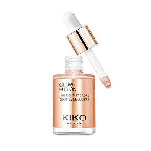 KIKO Milano Glow Fusion Highlighting Drops 02   Illuminante Liquido per Il Viso dal Finish Metallico