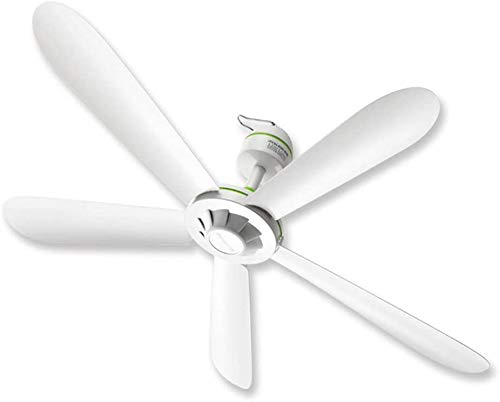 Knoijijuo Fan 35 Pollici Ventilatore A Soffitto, ABS Mobili di Plastica Ventilatore A Soffitto Senza Luce, Bianco Ventilatore più Silenzioso, Cucina Camera da Letto al Coperto