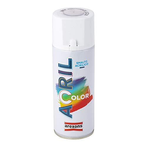 Arexons Smalto base acrilica, spray, 1 pezzo, Trasparente lucido