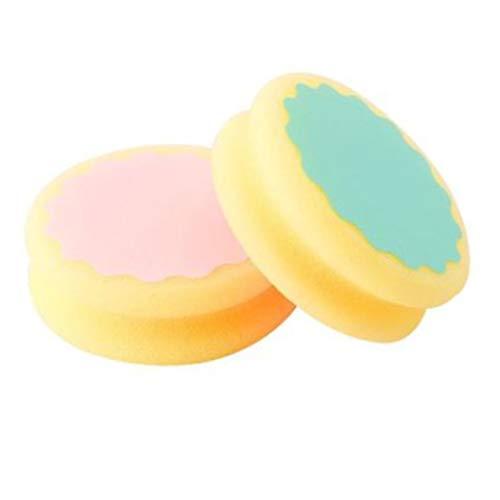 Spugna depilatoria Magica Rimozione indolore Depilazione Spugna Tampone Rimuovi peli efficace per le donne (multicolore)