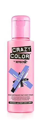 Renbow Crazy Color No.55 Lilac Semi-Permanent Cream 100ml