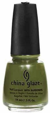 China Glaze 81075 Westside Warrior Smalto per Unghie con Indurente, 14 ml