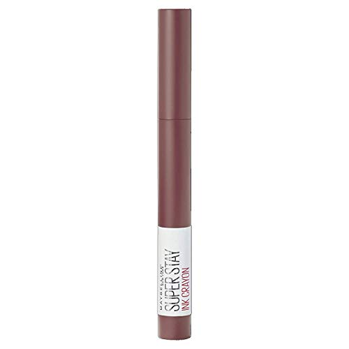 Maybelline New York Rossetto Matita SuperStay Ink Crayon Colore Matte a Lunga Tenuta, 20 Enjoy the View