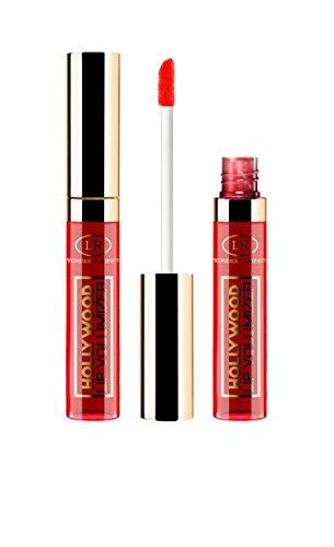 Hollywood Lip Volumizer RED, volumizzante labbra al veleno d'ape ROSSO, lucidalabbra/lipgloss ad azione rimpolpante (1x9ml) - Wonder Company