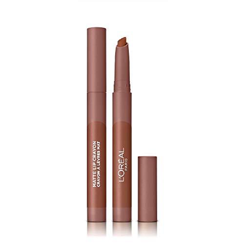 L'Oréal Paris Infallible Very Matte Lip Crayon, Rossetto Effetto Opaco, Colore Très Sweet (104)