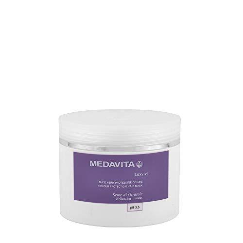 medavita luxviva maschera protezione colore 500 ml colour protection hair mask