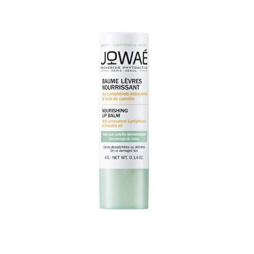 JOWAÉ Balsamo Labbra Nutriente con Olio di Camelia, per Labbra Secche o Screpolate, anche Sensibili, Formato da 4 g