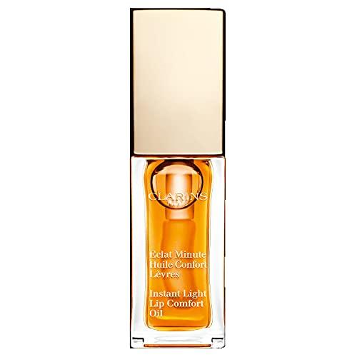 Clarins Olio Confort per Labbra, 01 Honey, 7 ml