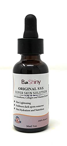 Olio per il viso che imbianca la pelle - Perfetta soluzione Super Skin per la pelle - Potente estratto di radice di liquirizia aiuta a ridurre l'aspetto dell'età Correttore scuro per pelle sensibile