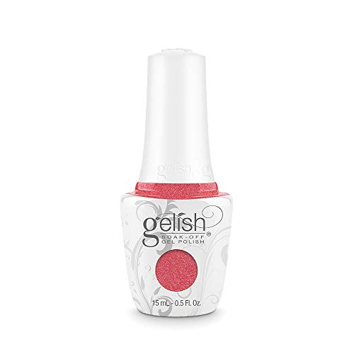 GELISH 15ml - SELFIE-ME, MYSELF-IE AND I - CORAL NEON SHIMMER