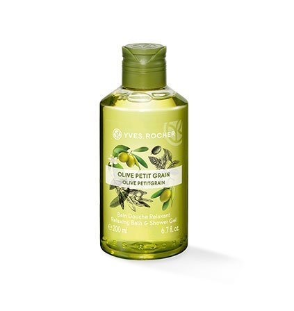 Yves Rocher LES PLAISIRS NATURE - Bagnoschiuma aromatica e gel doccia nutriente, 1 flacone da 200 ml