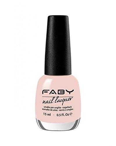 FABY NAILS - Smalto Dawn - Rosa Nude - Smalto Lunga Tenuta - 100% Vegan, Cruelty Free - Senza DBP, Toluene, Formaldeide, Resina di Formaldeide e Canfora - 15 ml