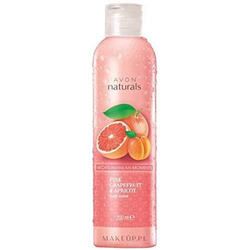 AVON Naturals Body care Pompelmo rosa e albicocca Lozione corpo 200 ml