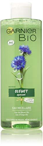 Garnier Bio Acqua micellare struccante e detergente – Acqua di Bluet Bio – Per pelli e occhi sensibili – 400 ml