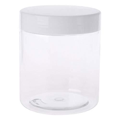 Fafalloagrron - Contenitore vuoto, per pasta di zucchero, melma di argilla leggera, barattolo per trucco, vaso cosmetico e crema