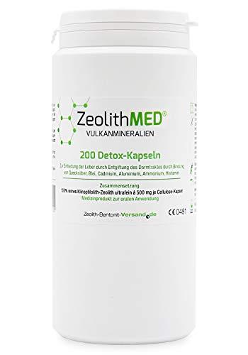Zeolite MED 200 Detox-Capsule Dispositivo Medico CE