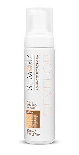 ST Moriz, Advanced Pro formula 5-in-1,mousse abbronzante, medium