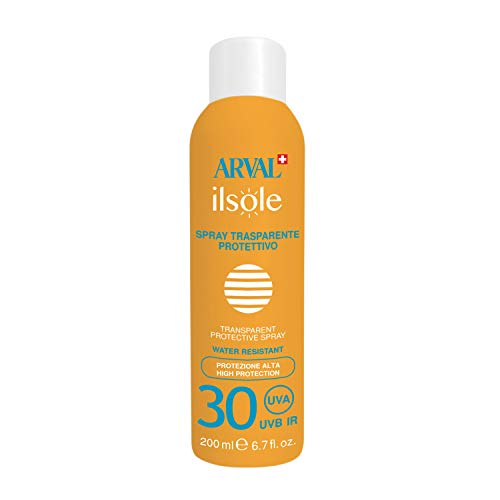 Arval Spray Protettivo Trasparente Spf 30 Bombola - 200 ml