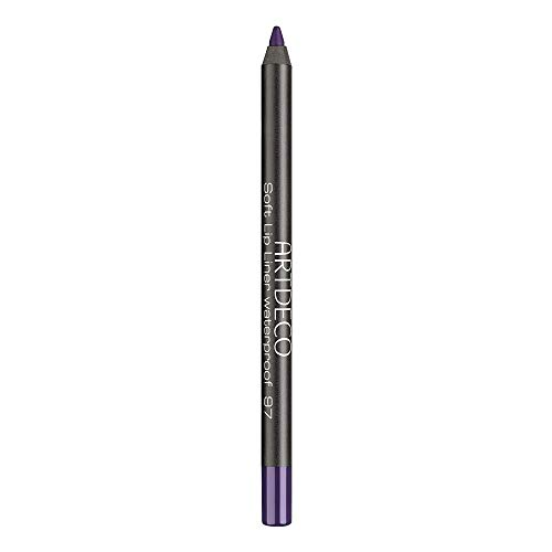 ARTDECO Soft Lipliner Waterproof, matita per labbra impermeabile, rosa, n. 97, colore: prugna