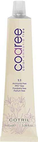 Cotril Coaree tinta per Capelli 4.7 Castano Sabbia 100ml Senza Ammoniaca, PPD, Parabeni, Profumo