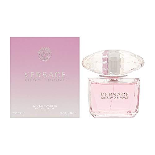 Versace Bright Crystal Eau De Toilette Donna, 90 ml