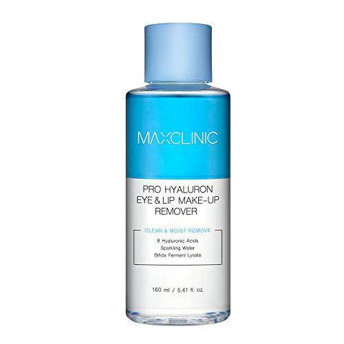 MAXCLINIC Pro Hyaluron Eye&Lip Makeup Remover Struccante delicato per occhi e labbra con liquido 8 tipi di acido ialuronico 160ml / 5.41 fl oz