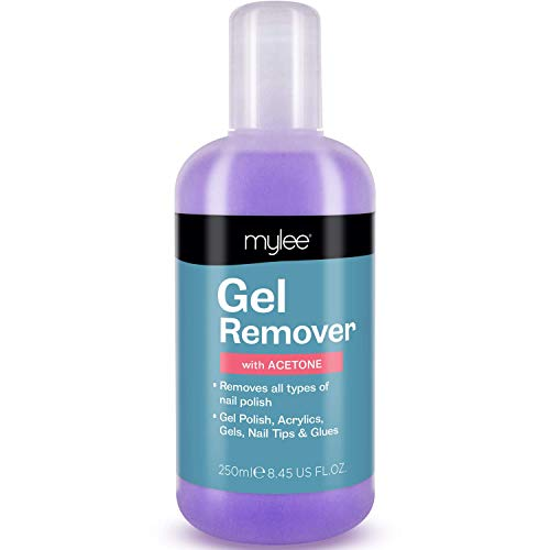 Mylee Gel Polish Remover acetone UV Nail Polish Cleaner LED manicure 250ml