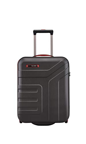 Travelite bagaglio a mano con lucchetto TSA soddisfa le dimensioni del bagaglio IATA., Nero (Nero) - 072007-01