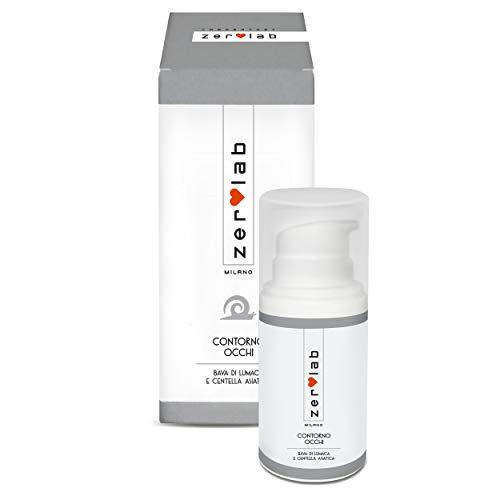 Zerolab Crema Contorno Occhi Antirughe Donna Anti Occhiaie Idratante Bava Di Lumaca
