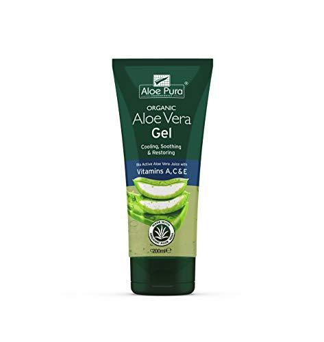 Aloe Pura Aloe Vera Gel Corpo con Vitamine a C, 200 ml