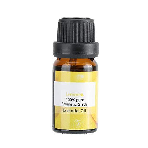 Olio essenziale di limone per pelle, olio essenziale di limone idratante schiarente Olio da massaggio corpo SPA Grado terapeutico Olio di limone -10ml