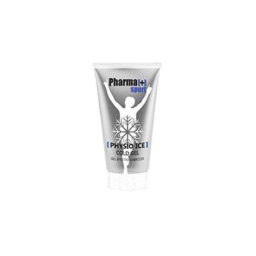 Pharma[+] Physio Ice Gel 150 ml Tubetto Crema Gel rinfrescante per dolori muscolari - con Oli Essenziali