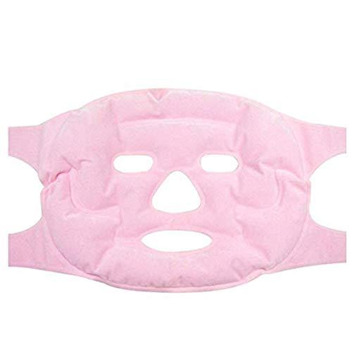 Winnes riutilizzabile Face beauty Mask anti Age Skin care Tools Hot Cold terapia magnetica Mask anti-allergia rilassamento del viso massaggio maschera idratante ringiovanente maschere rosa